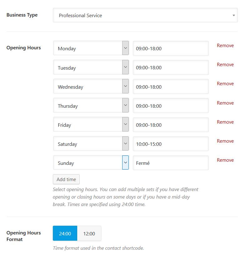 optimiser horaires ouverture Google My Business