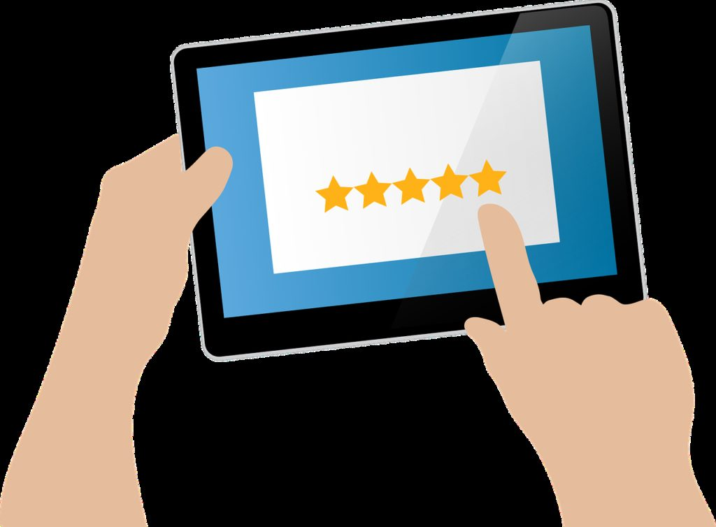 feedback, star rating, user rating